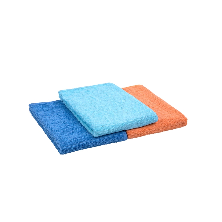 Microfiber weft knitting floor cloth microfiber floor for Floor knitting