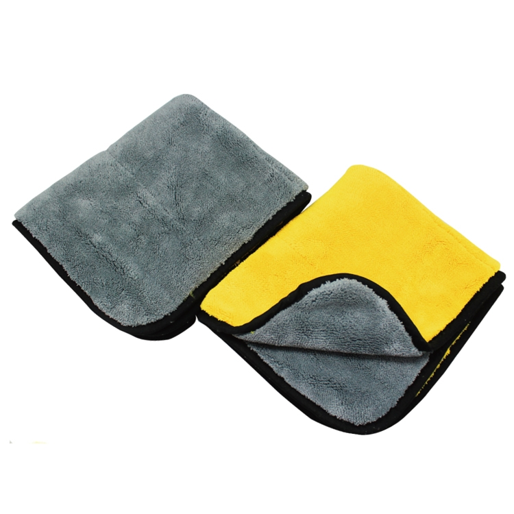Double Face Technology Towel: Double Sided Car Microfiber Towel